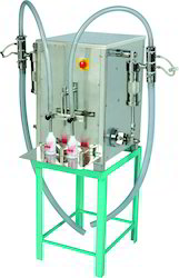 Semi-Automatic Twin Head Liquid Filling Machine