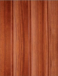 WM-403 Curve Cedar PVC Wall Panel