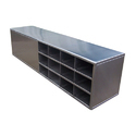 Stainless Steel Shoe Rack