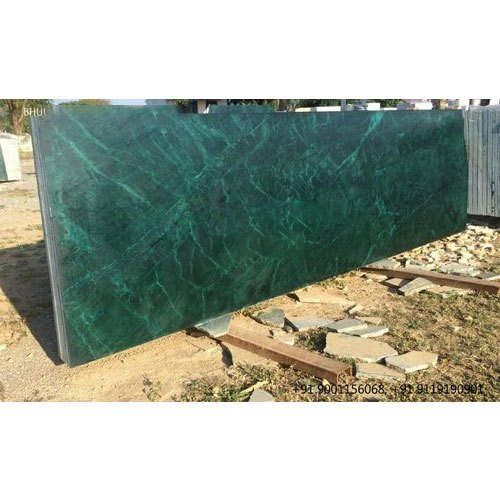 Polished Finish Baroda Green Marble Slab, Application Area: Countertops, Thickness: 0.75 Inch