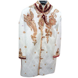 Chikan Embroidered Sherwani