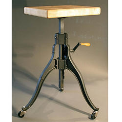 Industrial Furniture Crane Stool