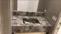 Smoky Quartz Vanity Counter