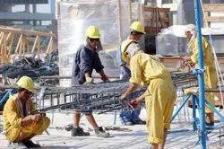 10th Pass Male Contract semiskilled Labour Supplier Service, Delhi