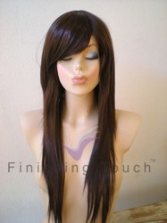 Synthetic Stylish Fringe Hair Wig