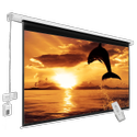 7X5 Feet Motorized Projector Screen With Remote