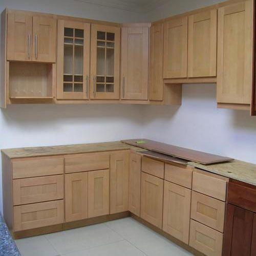Wooden Kitchen Cupboard Wooden Cupboard - VR Interior Decors