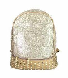 Glitter PU Girls Backpack
