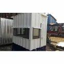 Galvanized Iron Security Cabin