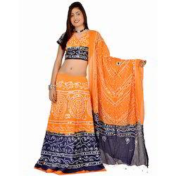 Jaipuri Bandhej Lehanga Choli 306