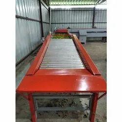 Orange Waxing Machine