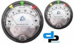 Aerosense Model ASG -05 Differential Pressure Gauges Ranges 0-5.0 wc