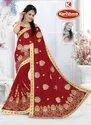 Bridal Wear Georgette Saree - Vivah Special-03
