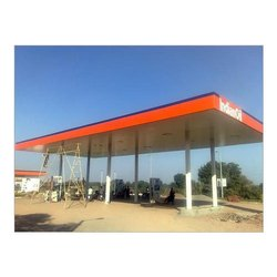 Petrol Pump Shed Fabrication