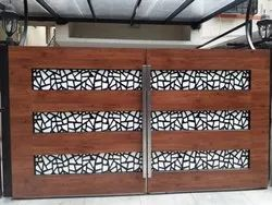 Decorative Wooden Gate