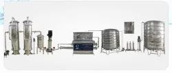 2000 LPH Water Purification Plant
