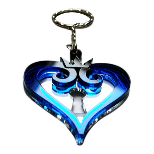 Keychain Kingdom Hearts Heart Hearts Keyring