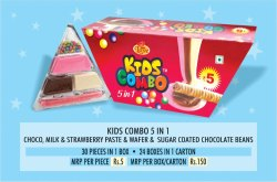 Kids Combo 5 in 1 Chocolate
