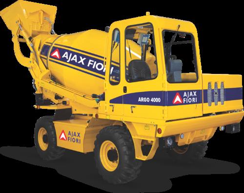 Ajax Fiori Self Loading Concrete Mixers Argo 4000 Id