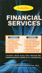 English Publishing Nahidha Financial Services Book, Class: Mba Elective - Finance, Size: One By Eight