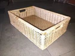 Natural Bamboo, Laundry Basket, Size/Dimension: 18x12x6 inches