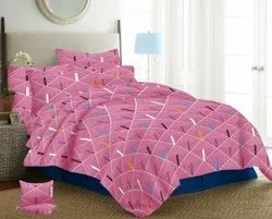 Cotton Double Bed Sheet with Pillow