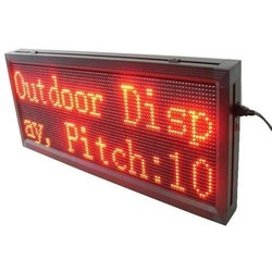 P10 Red Colour LED Screen
