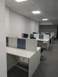 Decons Linear Modular Office Furniture, Size: 40000 Sft