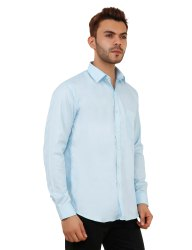 Firozi Color Full Sleeve Casual Shirt