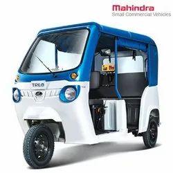 电池Mahindra Treo  -  HRT汽车人力车,公共交通,座位容量:D + 3座位