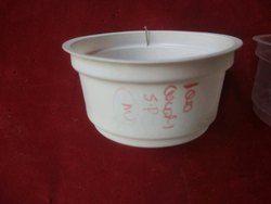 Plastic disposal cup