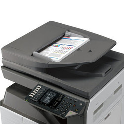 Sharp Ar 6020 N with Platen Cover Photocopiers Machine