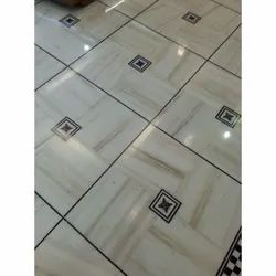 Polished Marble Floor Tiles, Thickness: 20-30 mm