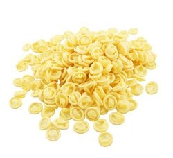 Evident AST Yellow ESD Finger Cots, Size:1000 PCS
