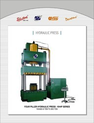 Four Piiar Hydraulic Press
