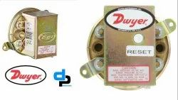 Dwyer Series 1900-10 Compact Low Differential Pressure Switch Range 3.0-11.75 WC