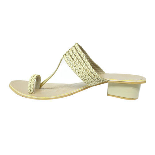 b5a62798e33 Off-white And Beige Women Box Heel Sandals