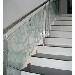 Itaian SS Glass Railing