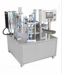 Rotary Type Automatic Cup Filling Sealing Machine