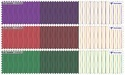 PC Stripe Engineering Border Shirting Fabric