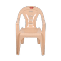 Brown Wooden Royal Slotted Chair, For Home