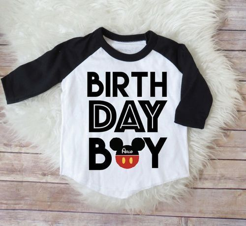 Cotton Printed Kids Birthday T Shirts