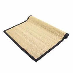 Soulgenie Black Border Anti-Skid Yoga Mats, Size: 3' x 6' (Black Border)