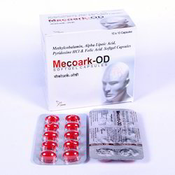 Mecobalamin 1500 Mcg Alpha Lipoic Acid 100mg Pyridoxine 3 for Hospital, Packaging Size: 10*10