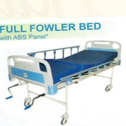Full Fowler Bed Deluxe with mattress ABS bows & collapsible railling