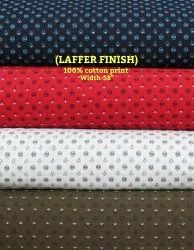 Laffer Finish 100% Cotton Print Shirting Fabric