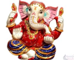 Rasin Moddern Ganesh Statue Hindu God Idol Sculpture