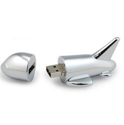 Aeroplane Shape Metal USB Pen Drive