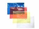 Plastic Button Bags & Folders