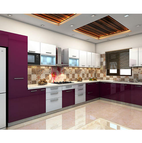 Wooden Kitchen Cabinet Size 10 X 8 Feet Rs 15000 Unit Myllar A Brand Of Ab Cad Consultancy Pvt Ltd Id 15498005248